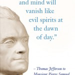 Banners with Jefferson quotes